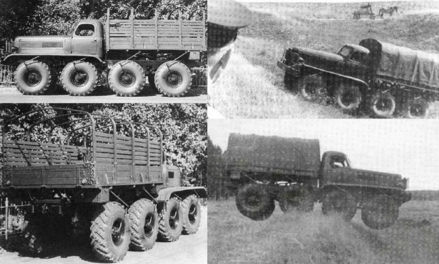 ZIS-E134 N°1, 8x8, 1954