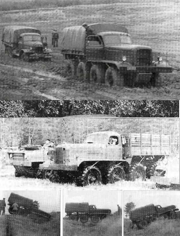 ZIS-E134 N° 1, 8x8, 1954