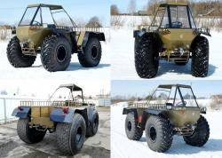 0 forester amphibious vehicle 2012
