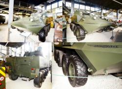 11b mowag 10x10 school driving armored car