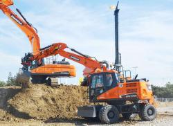 13 2015 04 20 145a doosan dx170w wheel excavator