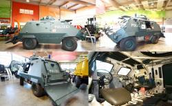 Unimog armored UR 416