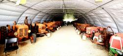 15 overview of renault tractors on left