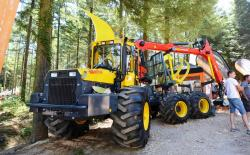 2014 06 21 453a welte w130k forwarder equiped with grapples