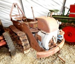 34 ransomes garden tractor mg 5