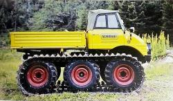 3a tracked unimog from u 406 1968