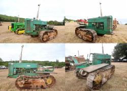 4 john deere crawler model m 1949