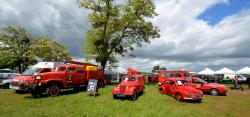43 fire cars of milly la foret