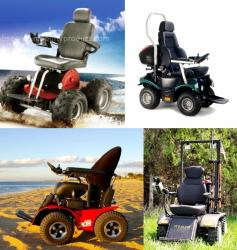 4x4 all terrain wheechairs