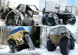 4x4 amphibious vehicles