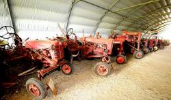5 farmall ih and pony straddle tractors