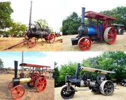 6 steamrollers