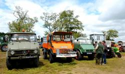 63 mercedes unimog and mb trac 800