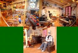 71 rooms of formely houses and old toys