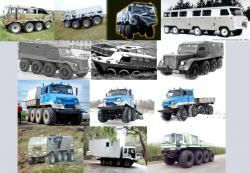 8x8 rigid vehicles