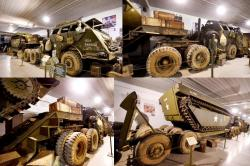 9 m25 tank transporter and lvt 4 tracked amphibious vehicle2