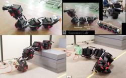 Acm r8 snake robot from hibot