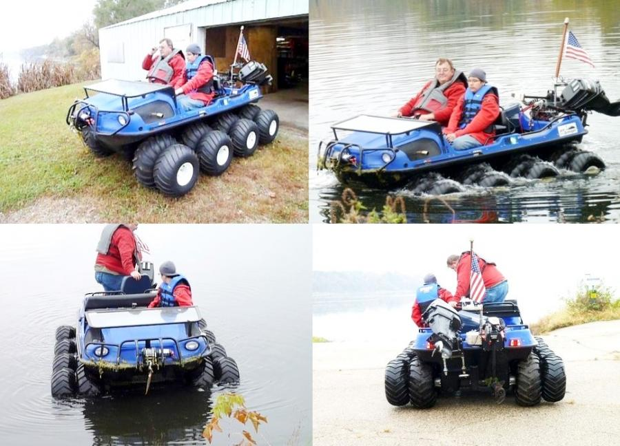 For Sale 2004 Argo Bigfoot 6x6 Amphibious Atv Utv ...
