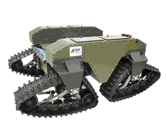 Tracked And Snake Like Robots