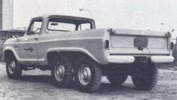 USA 6X6 Conversion http://www.unusuallocomotion.com/pages/more-documentation/6x6-wheeled-rigid-vehicle-medium.html