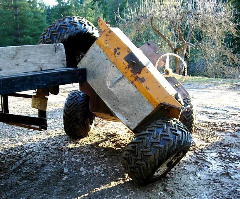 Small 4x4 Atv Coot 4x4 Articulated Atv