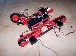 D track printable robot