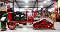 Dayton dick leader half track tractor 1917