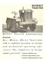 Detroit tractor 2