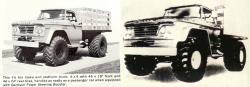 Dodge power wagon series 300