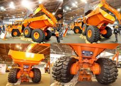Doosan da 40 articulated dump truck