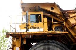 Dsc 0452a dresser haulpak 510 e dump truck