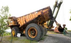 Dsc 0453a dresser haulpak 510 e dump truck
