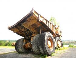 Dsc 0457a dresser haulpak 510 e dump truck