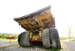 Dsc 0458a dresser haulpak 510 e dump truck