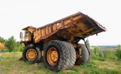 Dsc 0484a dresser haulpak 510 e dump truck