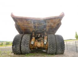 Dsc 0522a dresser haulpak 510 e dump truck
