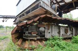 Dsc 0576a tracks of fives cail babcock bucket wheel