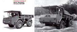 Faun k10 rear dump 1958