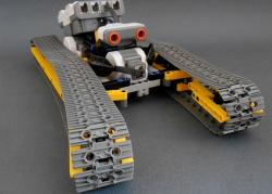 Flexible track lego