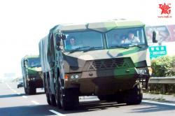General purpose liberation military truck 8x8