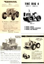 Germinal the big 4 elwwod detroit tractors 2