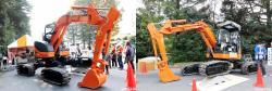 Hitachi zx55ur excavator