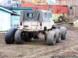Homemade 6x6 vehicle