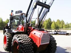 Huddig tractor