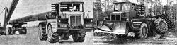 Industrial tractor t 120 3
