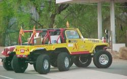 Jeep 6x6 home made