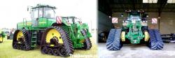 John deere tracked tractors