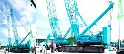 Kobelco 2500g crawler crane