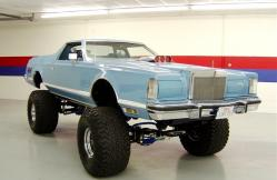 Lincoln mk v 1979 modified