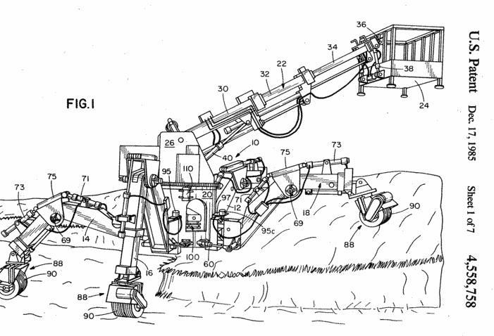 timberjack walking machine